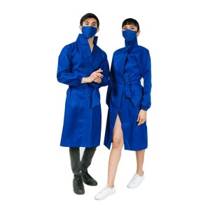 Microfiber Dress with Mask