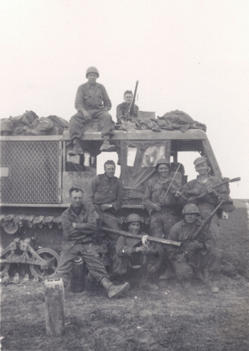 421. Gun crew and M4 Tractor