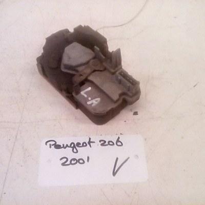 Deurslotmechanisme Links Achter Peugeot 206 4 Deurs