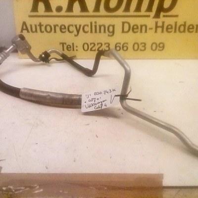 1J1 820 743 K 08701 Aircoleiding Volkswagen Golf 4