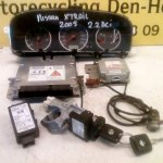 23710-EQ405 ECU Set Met Sloten en 2 Sleutels Nissan X Trail T30 2.2 DCI (2005)