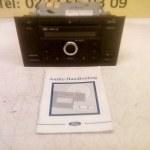 6000 CD Radio CD Speler Ford Mondeo MK 3 Met Code En gebruikers Handleiding 2001 / 2005