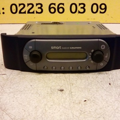 0001199 V006 0000 00 Radio Smart City Coupe 1999
