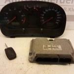 06A 906 018 CL-1J0919881B ECU Startset Volkswagen golf 4 1.8 20V 1999