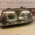 LI 153 895 Gebruikte Koplamp Links Audi A3 8L 2000-2003 Hella