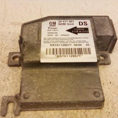 24 417 007 DS SDM Unit Opel Corsa C 3 Deurs