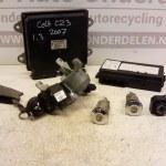 1860A710 - MN108319 - 5WK4 5107 ECU Startset Met Sloten Mitsubishi Colt CZ3 1.3 16V 2007