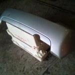 Achterbumper Citroen C2 Kleur Zilver EZRC 2004-2008