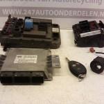 9648636680 ECU Startset Citroen C5 2.0 16V RFN 2002