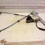 9641241380 Raammechanisme Links Citroen C2 2004-2008 6 Polig