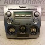 6M71-18K876-DA Radio CD Speler Mazda 2 DY 2003-2006
