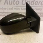 02 09267 Rechter Buitenspiegel Renault Twingo 2011-2013 Elektrisch Kleur Zwart CN04