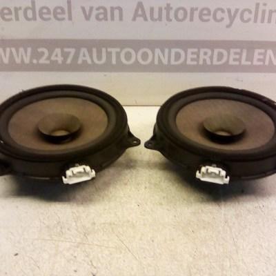 D65166960 Speakers Voordeuren Mazda 2 2008-2011
