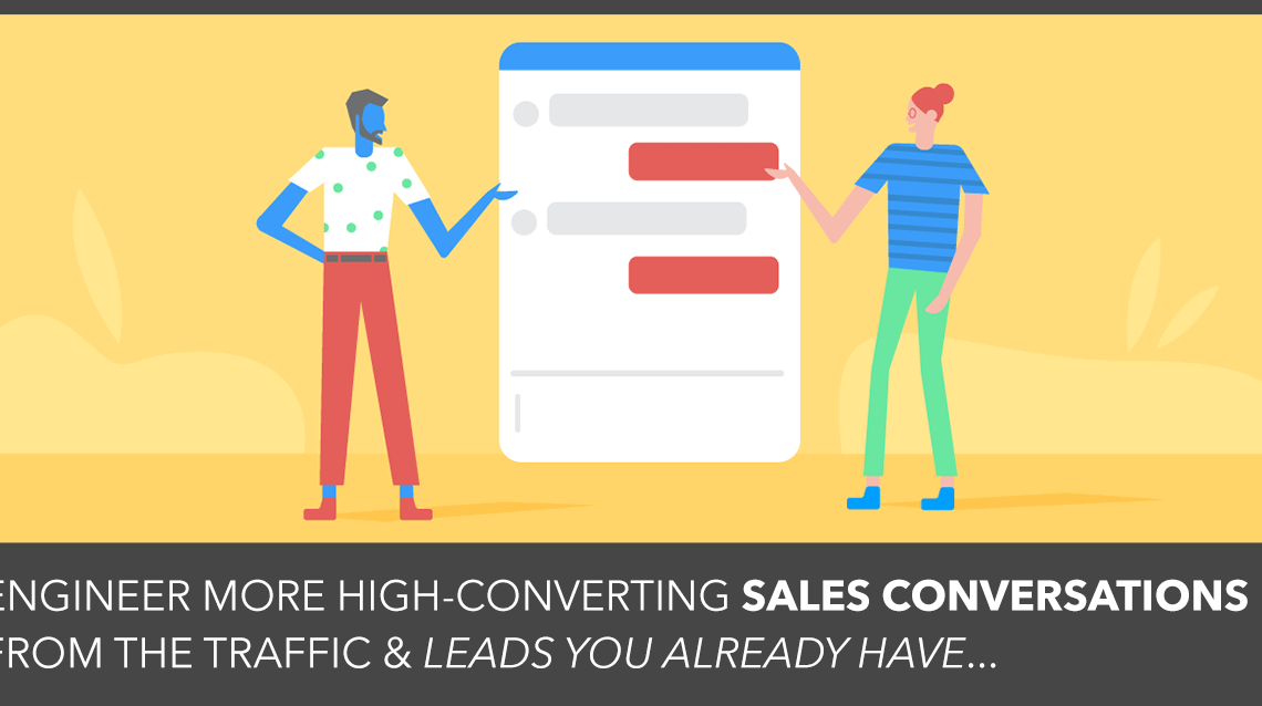 Conversational Selling: The 5 Critical Questions That Will Help You Generate Sales Leads From The Traffic You're Already Getting