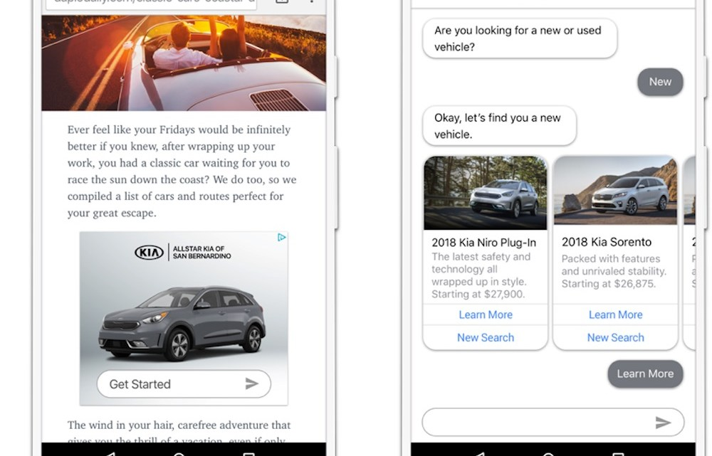 Google-incubated AdLingo uses chatbot integration to create conversational ads