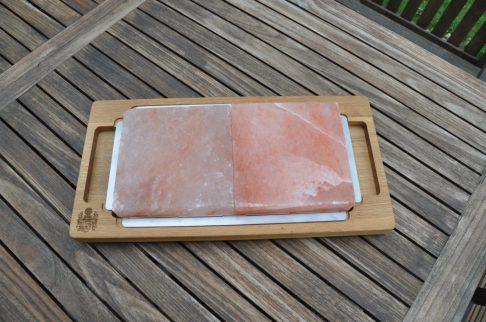 Salzplattenhalter