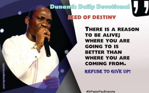 Seeds of Destiny 9 March 2018 by Pastor Paul Enenche
