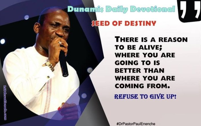 Seed Of Destiny For June 27 June 2018 By Dr Paul Eneche
