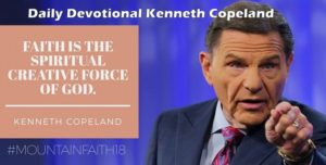 Kenneth Copeland devotion 9 March
