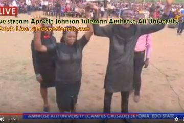 Live Streaming Johnson Suleman