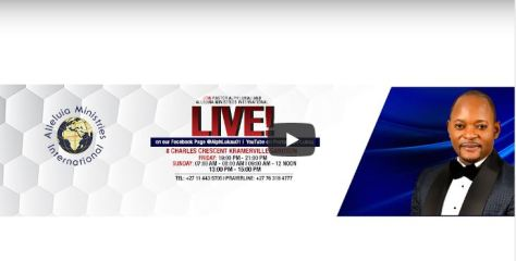 Watch Live Easter Rendezvous with Alph Lukau