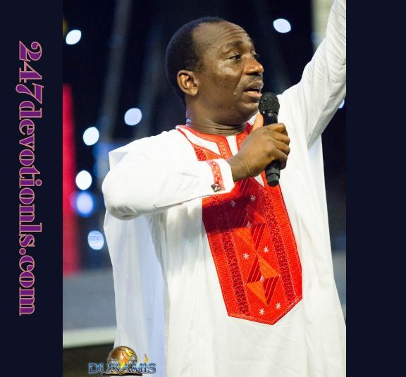 Seed Of Destiny Devotional 6 April 2018 by Dr Paul Eneche