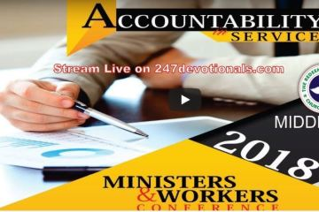 Watch Live RCCG Middle East Region 2018 MINISTERS & WORKERS CONFERENCE
