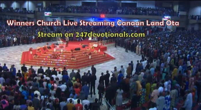 Live Streaming From Winners' Chapel Canaan Land with Bishop David Oyedepo