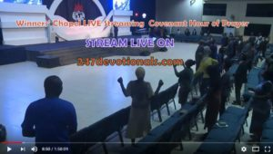 Live Streaming Winners Church Living Covenant Hour of Prayer