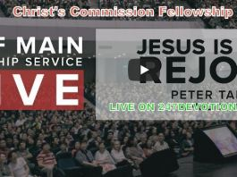 Watch Live Christ's Commission Fellowship