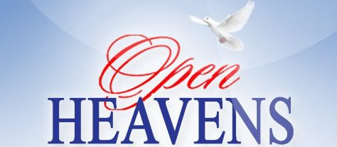Open Heavens 8 September 2018