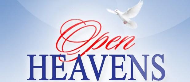 Open Heavens 6 September 2018