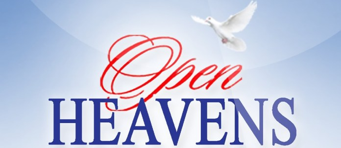 Open Heavens 6 September 2018