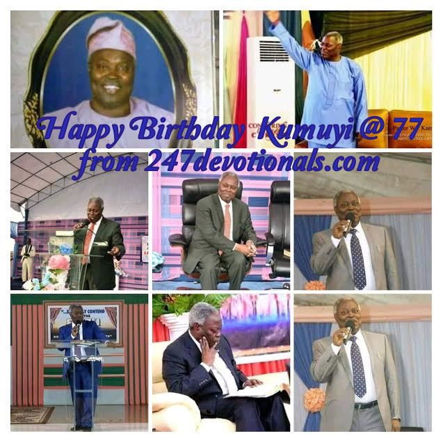 Kumuyi at 77 years
