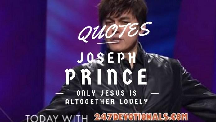 Today Joseph Prince Quotes