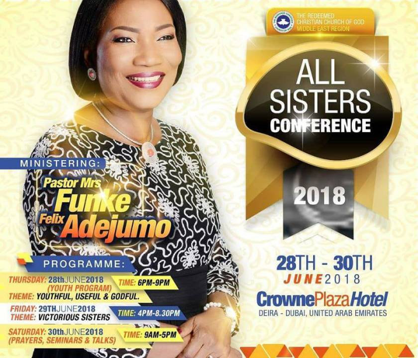 RCCG Middle East Region 2018 ALL SISTERS CONFERENCE