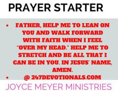 Daily Word Joyce Meyer Ministries
