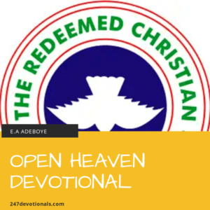 open heaven devotional