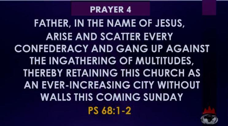 Gather multitudes prayer Oyedepo