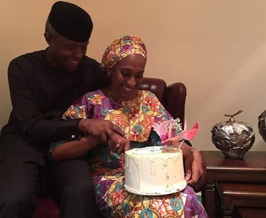 Pastor Yemi Osinbajo Tells Wife On Her Birthday