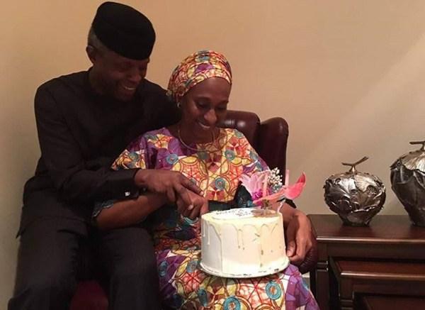 Pastor Yemi Osinbajo Tells Wife On Her Birthday