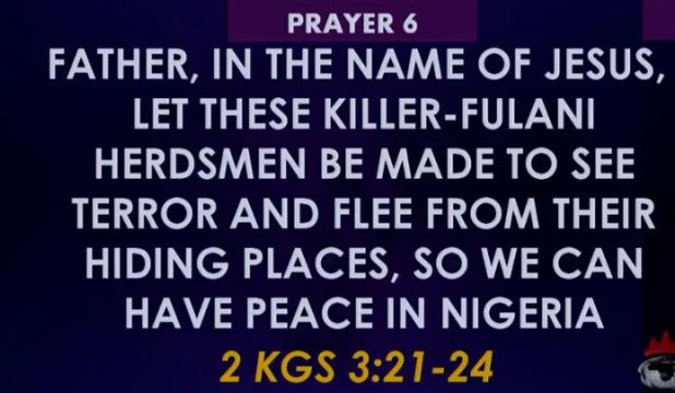 Winners Prayer SIX 6 Towards Rescue of Nigeria