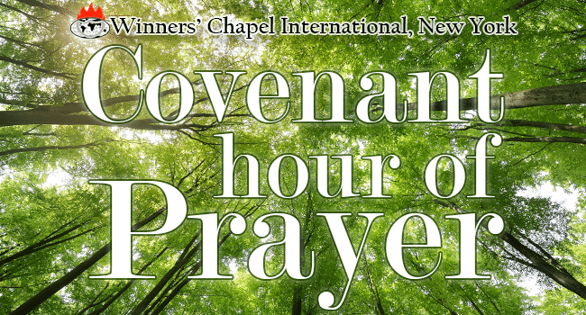 convenant hour of prayer