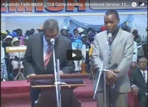 Live stream Apostolic Faith WECA