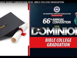 Day 3 Live Stream RCCG 66th Annual Convention