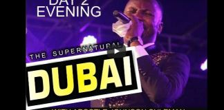 apostle Johnson Suleman Dubai Service