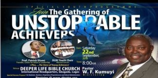 Dipper Life Special Gathering of Youths 2018 Lagos Edition
