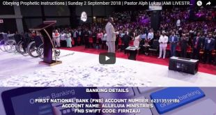 Pastor Alph Lukau stream today