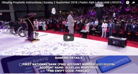 Pastor Alph Lukau stream today