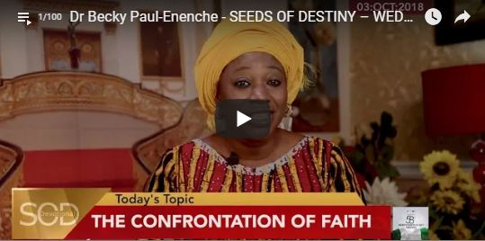 Dunamis Seed of Destiny November 2018